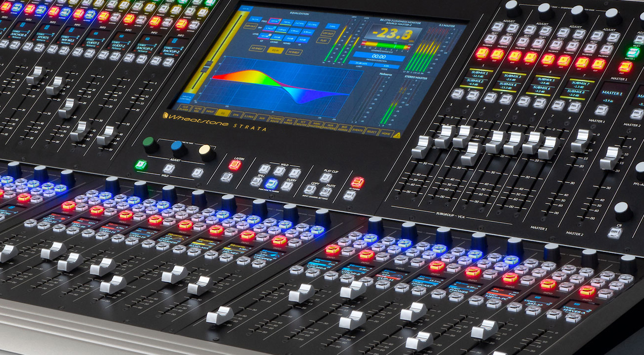 WHEATSTONE INTRODUCES COMPACT IP TV AUDIO CONSOLE AT NAB